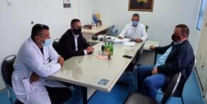 Uvid u proces vakcinacije u domovima zdravlja u Čeliću, Gradačcu i Srebreniku