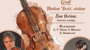 Violinski virtuozi Vladimir Marković i Yeonju Jeong nastupaju u Tuzli