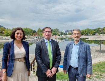 Gradonačelnik i predsjedavajuća Gradskog vijeća Tuzle susreli se sa ambasadorom Slovenije