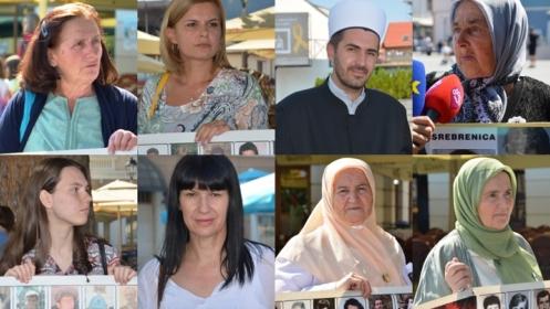 Mirni protesti majki Srebrenice u Tuzli: Koraci za istinu, pravdu i smiraj svih nestalih i ubijenih za kojima se još uvijek traga