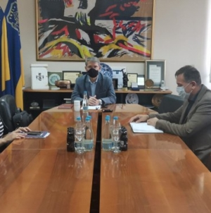 "Gradonačelnik Tuzle primio predstavnike Planinarskog društva ""Konjuh"""