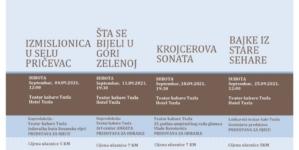 Pozorišne predstave subotom na sceni Teatra kabare Tuzla