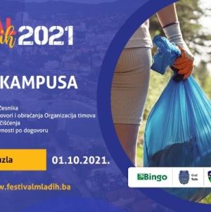 Pridružite nam se na akciji čišćenja Kampusa UNTZ