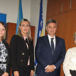 Posjeta predsjedavajućeg Predstavničkog doma Parlamentarne Skupštine BiH Denisa Zvizdića Skupštini TK